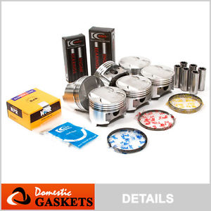 high temperature 91-99 3000GT Diamante Dodge Stealth 3.0L DOHC Pistons&Bearings&Rings Set 6G72