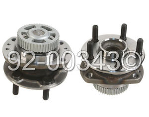 high temperature Chrysler Town Country Dodge 96+ New Replacement Rear Wheel Hub Bearing Assembly