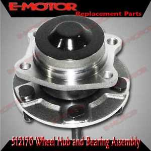 high temperature REAR Wheel Hub Bearing fit 2001-2005 Dodge Caravan 2WD WITHOUT ABS