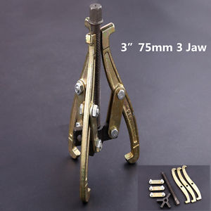 "high temperature 3"" 75mm 3 Jaw Gear Puller Reversible Legs External/Internal Pulling Repair Tool"