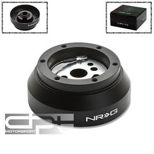high temperature NRG STEERING WHEEL 6-HOLE ALUMINUM BALL BEARING RACE SHORT HUB ADAPTER SRK-170H