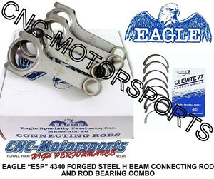 high temperature Dodge 2.0L Neon SOHC DOHC Mitsubishi 420A Eagle H Beam Rods w/ Clevite Bearings