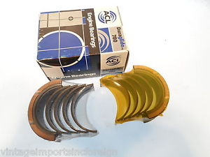 high temperature Dodge Colt Eagle Summit & Mitsubishi Mirage New Main Bearings  014-651010