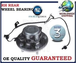 high temperature FOR DODGE JOURNEY 2.0DT 2.4i 6/2008-  REAR RH SIDE WHEEL BEARING KIT COMPLETE