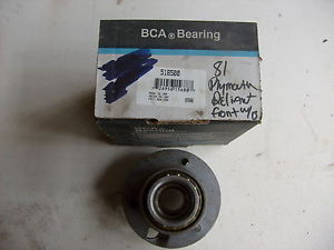high temperature BCA 518500 front axle bearing to fit 1978-90 Chrysler, Dodge, Plymouth