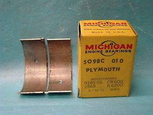 high temperature Dodge Plymouth 218 230 Six Series Special Deluxe Rod Bearing 010 1934-59 USA