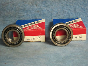 high temperature 1973 74 75 76 77 78 79 80 Chrysler Dodge Plymouth Front Wheel Bearings Pair New