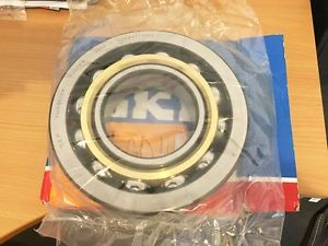 high temperature SKF 7320 BECBM Single Row Angular Contact Ball Bearing With Machined Brass Cage