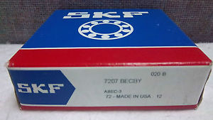 high temperature SKF ANGULAR CONTACT BALL BEARING 7207 BECBY  7207BECBY