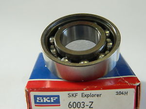 high temperature SKF 6003-Z  Deep Grove Ball Bearings. Single row. SPECIAL PRICE AVAILABLE