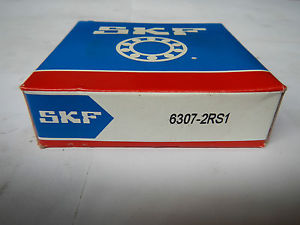 high temperature SKF Deep groove ball bearings type: 6307-2RS1 / 35x80x21  / ORIGINAL PACKAGE
