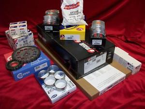high temperature Chrysler/Dodge 318 Marine Master Eng. Kit Pistons+Rings+Bearings+Gaskets REV ROT