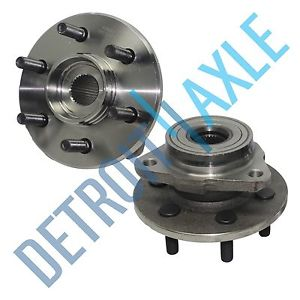 high temperature Pair (2)  Front Suspension Wheel Hub and Bearing Assembly 4WD AWD 2-Wheel ABS