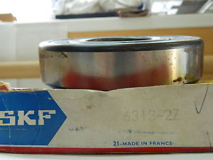 high temperature SKF 6313-2Z Deep Grove Ball Bearings. Single row.