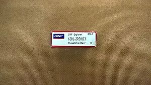 high temperature New SKF 6201 – 2RSH C3 –  SKF Metric Sealed Ball Bearing