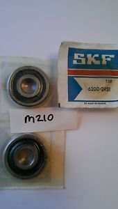 high temperature 6200 2RS1 SKF BEARING SEALED STAINLESS STEEL BALL BEARING       M210