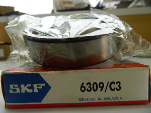high temperature SKF 6309/C3 Deep Grove Ball Bearings. Single row.