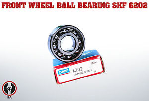 high temperature Vespa PX LML Star Stella Front Wheel Ball Bearing Skf 6202