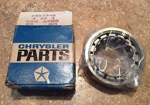 high temperature 1969-1970-1971 MOPAR PLYMOUTH DODGE AXLE SHAFT BEARING 2852949 8 1/4 REAR END