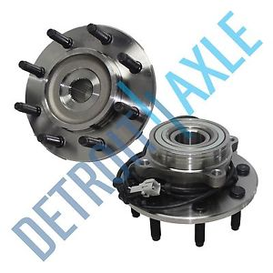 high temperature Pair: 2 New FRONT Driver and Passenger Wheel Hub Bearing – w/ ABS – 4WD