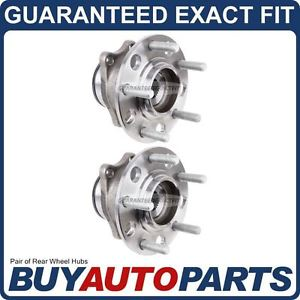 high temperature PAIR  REAR LEFT & RIGHT WHEEL HUB BEARING ASSEMBLY FOR DODGE AND JEEP