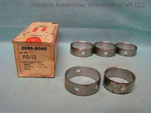 high temperature 1958 – 1977 Dodge Chrysler 350 361 383 413 426 440 Camshaft Bearing Set