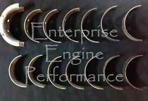 high temperature Dodge Cummins 5.9 6.7 12V 24V ISBE H-Series Main Bearing Set Clevite MS-2328H