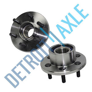 high temperature Pair (2)  FRONT Driver and Passenger Wheel Hub and Bearing 2WD 2-Wheel ABS