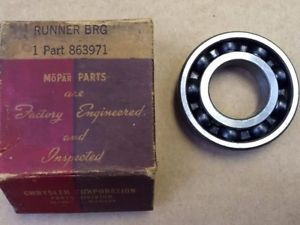high temperature New Old Stock MoPar Fluid Drive Hub Bearing 40-42 DeSoto Dodge Chrysler 6 Cyl.