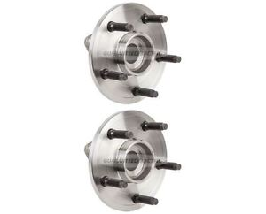 high temperature PAIR Dodge Ram 1500 02-06 Brand New Front Wheel Hubs Bearings Assembly