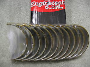 "high temperature Main Bearing Set 2.2, 2.5L 4-Cyl. Dodge 1981-95  .25mm .010"" Oversize BC369J.25"