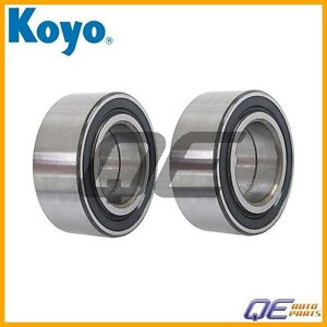 high temperature 2 Front Wheel Bearing Koyo MR449796 For: Mitsubishi Diamante 2000 2001 – 2004