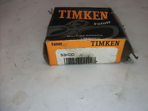 high temperature Timken Fafnir Ball Bearing (S3KDD)