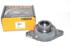 "high temperature Timken Fafnir RCJT 2 Flange Bearing 2 Bolt Ball 2"" Bore Housed Unit"