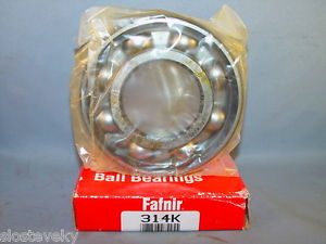 high temperature Fafnir 314K BALL BEARING 70mm X 150mm X 35mm 314-K Torrington Timken  LOT OF 2