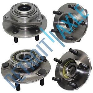 high temperature  4 pc Kit – Set of 2 Front and 2 Rear Wheel Hub and Bearing Assembly ABS