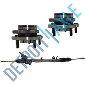 "high temperature 3 pc Set: Steering Rack and Pinion + 2 Wheel Hub Bearing; 15"" 16"" 17"" Wheels"