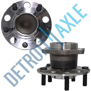 high temperature Pair (2) New REAR FWD Dodge Chrysler, Wheel Hub and Bearing Assembly Non ABS