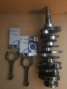 high temperature Dodge 2.7 Crankshaft with Bearings,  2 Rods (Gas Engine Only) 98-2010
