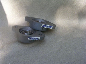 """high temperature A Pair of Old Stock FAFNIR RCJTC Flanged 2 Bolt Bearings 5/8"""" ID Barely Used!"""