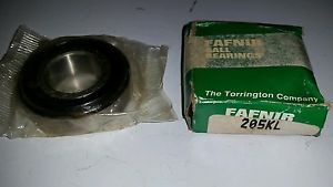 high temperature Fafnir 205KL deep groove ball bearing New