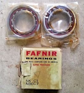 high temperature FAFNIR BEARINGS 5K C1 ABEC7 ~ 2MM9107WI CR DUL 1 PAIR (  ) OLD STOCK