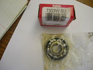 high temperature FAFNIR 7303WSU ANGULAR CONTACT BEARING   NIB