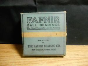 high temperature FAFNIR BALL BEARINGS CO BRITAIN CONNECTICUT USA #10602 CUP VINTAGE  OLD STOCK