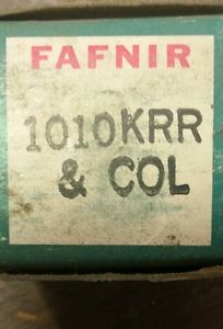high temperature NIB FAFNIR 1010KRR COL 1010KRR Farm Ag bearing