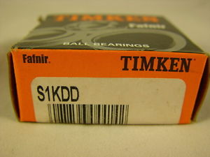"high temperature Timken S1KDD Extra Small Ball Bearing Double Shielded 1/4"" ID, 3/4"" OD"