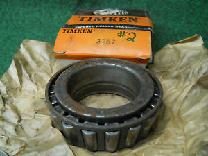 high temperature Timken 3767 Cup #2 Bearing Old Stock Ball Bearings USED