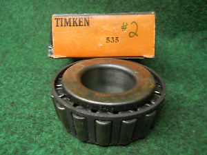 high temperature Timken 535 Cone #2 Bearing Old Stock Ball Bearings USED