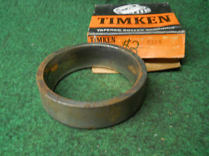 high temperature Timken 532A Cup #2 Bearing Old Stock Ball Bearings USED