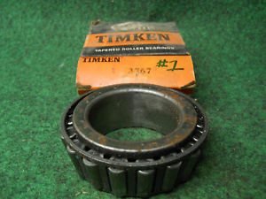 high temperature Timken 3767 Cup #1 Bearing Old Stock Ball Bearings USED